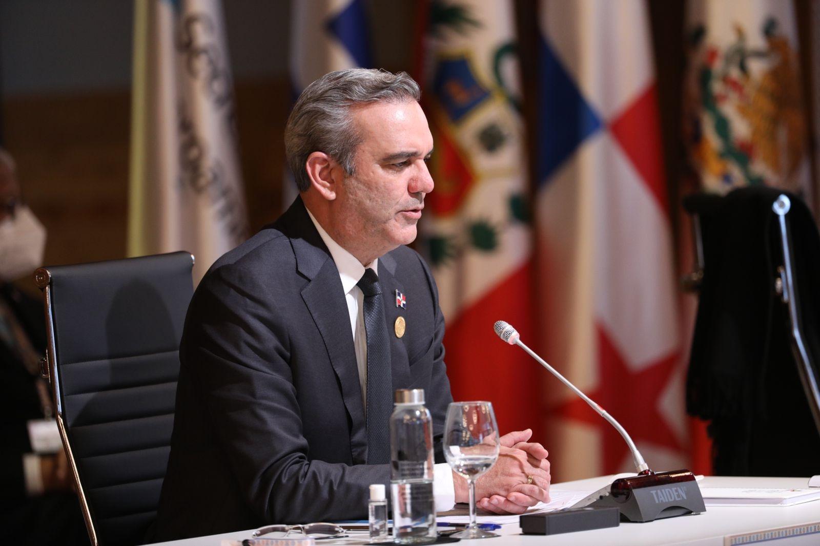 El presidente Luis Abinader dijo que en diálogo nacional no aceptará cambios elección presidencial.