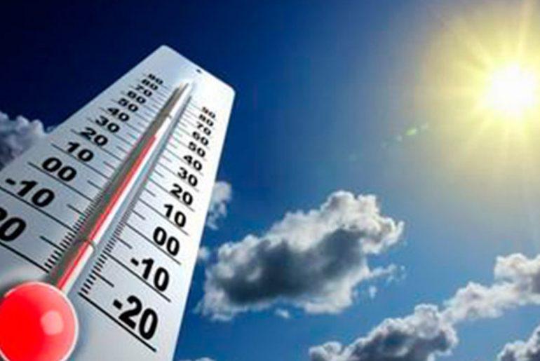 La Onamet prevé temperatura calurosa por el polvo del Sahara.