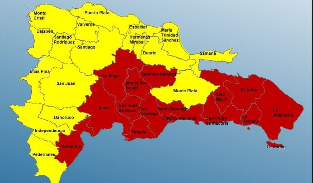Los efectos de la hoy depresión tropical Fred mantiene las alertas del país encendidas.