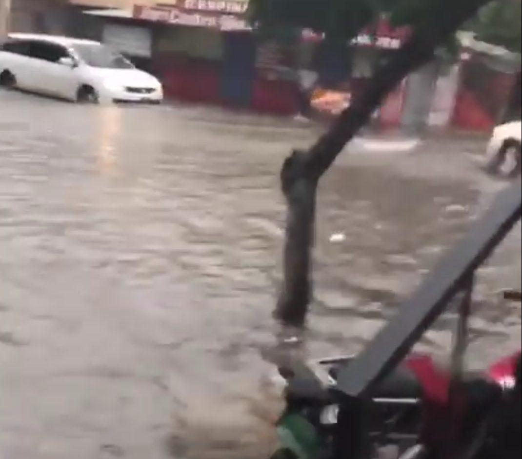 La tormenta Fred provoca lluvias y fuertes vientos a su paso por el territorio nacional.