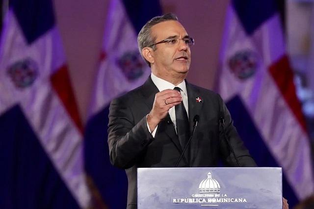 El presidente Luis Abinader hizo un respaso a las reformas en su primer año de gobierno.