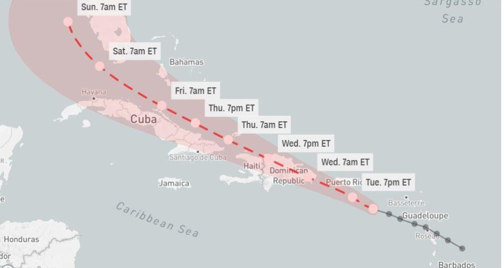 La tormenta Fred se acerca al territorio nacional.