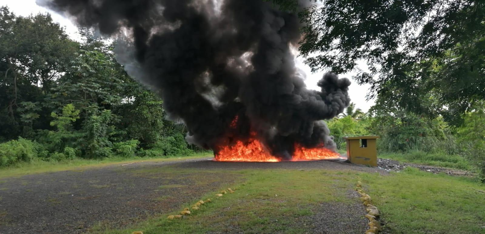 La Procuraduría General de la República (PGR) incineró el jueves más de 700 kilogramos de drogas.