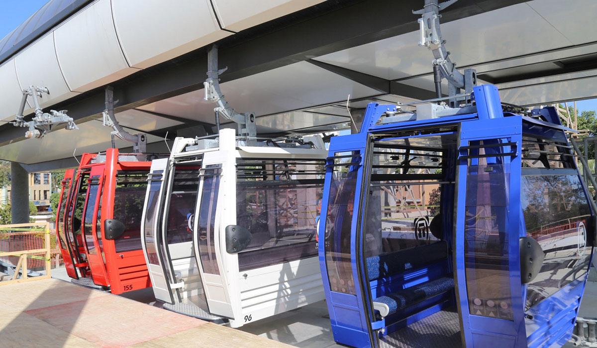 El teleférico de Santo Domingo será suspendido por paseo tormenta Fred.