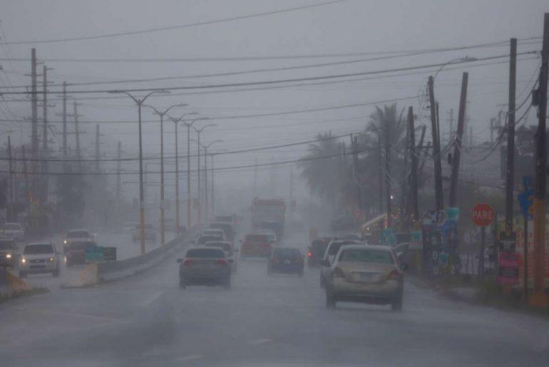La tormenta Fred está acompañada de lluvias considerables y fuertes vientos.