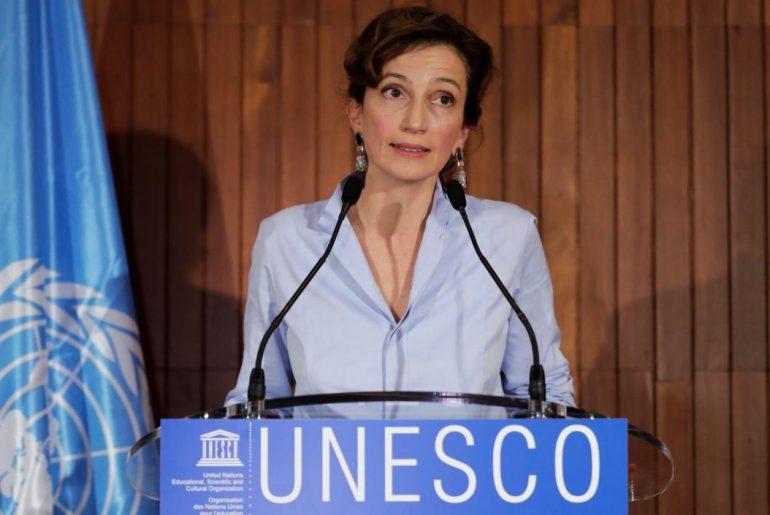 Audrey Azoulay, Directora General de la UNESCO.