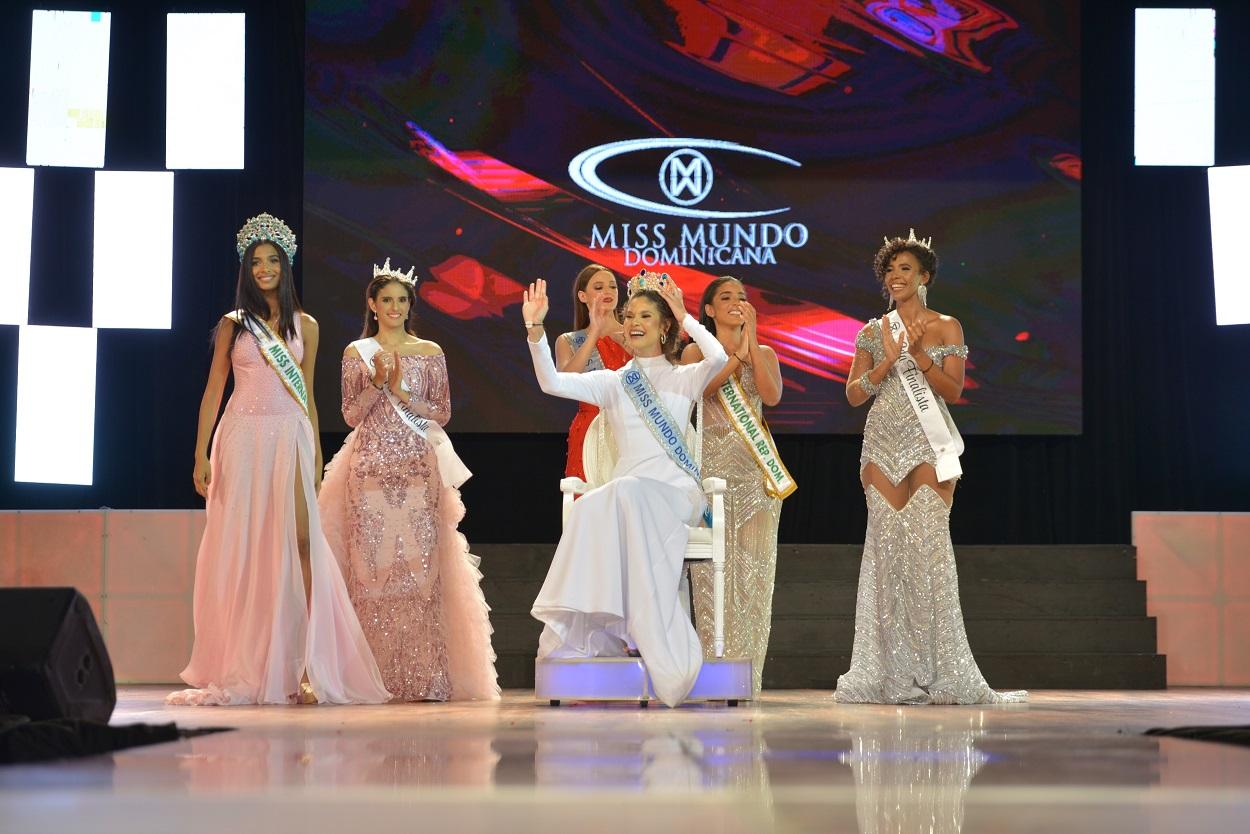 Cuerpo de finalistas de Miss Mundo Dominicana 2021.