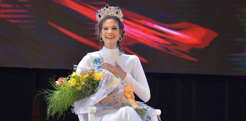 Emmy Peña, Miss Mundo Dominicana 2021.
