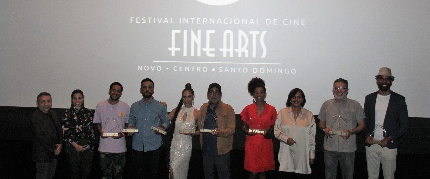 Ganadores del Festival de cine de Fine Arts.