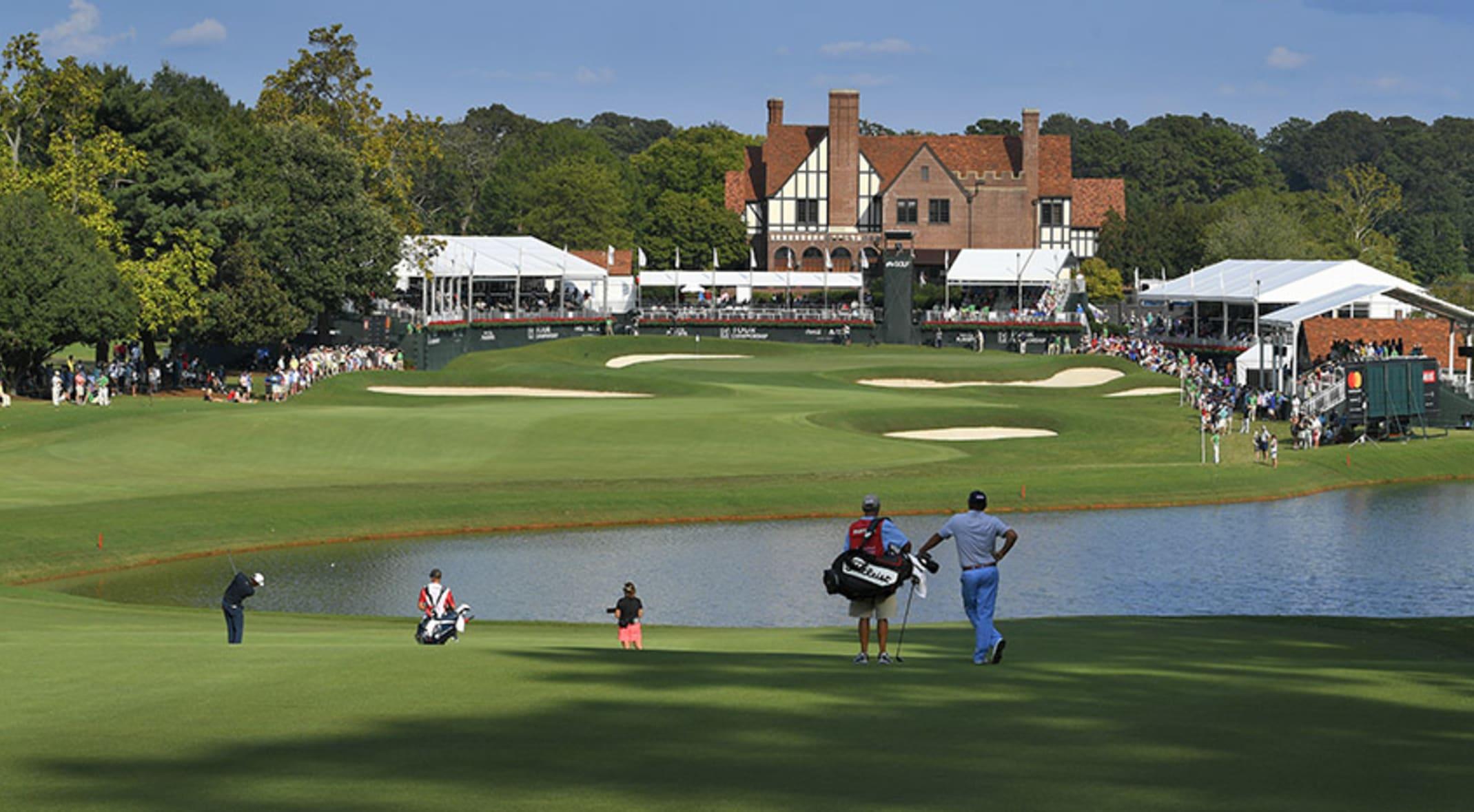El East Lake Golf Club, en Georgia, donde se jugará el Tour Championship.