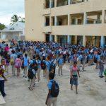 Estudiantes son convocados a nuevo año escolar.