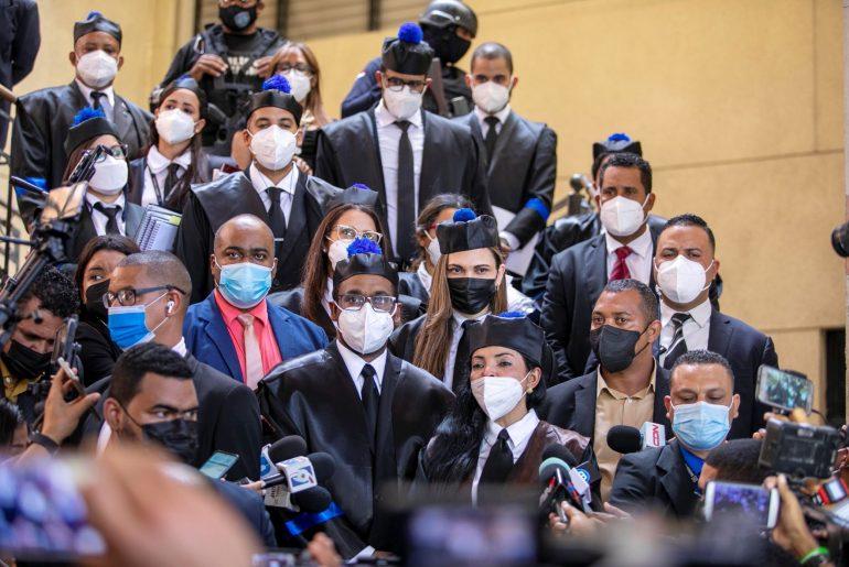 Miembros del Ministerio Público conversan sobre Operación Falcón.