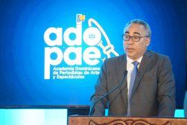 Severo Rivera, presidente de Adopae, felicita reglamento Ley de Mecenazgo.