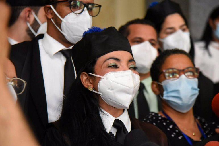 La procuradora adjunta Yeni Berenice Reynoso destacó este miércoles que el Ministerio Público ha duplicado la cantidad de pruebas contra los imputados del Caso Medusa.