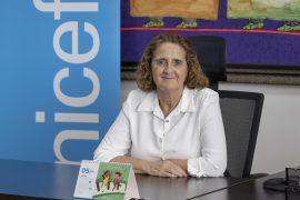 Rosa Elcarte, representante residente de UNICEF RD.