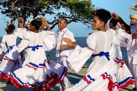 Festival Folklórico en Santo Domingo Este.