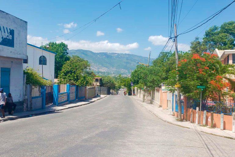 Calles haitianas vacías por llamado a huelga.