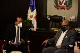 Jaime Marte Martínez y Alfredo Pacheco trataron sobre la modificación de la Ley 50-88.