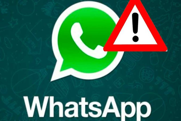 Se cae whatsapp.